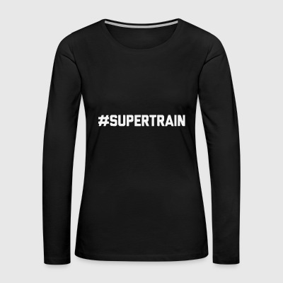SUPERTRAIN - Women's Premium Long Sleeve T-Shirt