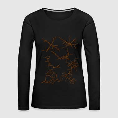 Cracks - Women's Premium Long Sleeve T-Shirt