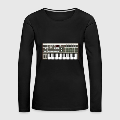 Micro Synthesizer mkIII #TTNM - Women's Premium Long Sleeve T-Shirt