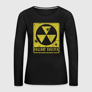 Fallout Shelter - Women's Premium Long Sleeve T-Shirt
