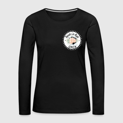 The Smash on Sight Crew Logo - Women's Premium Long Sleeve T-Shirt