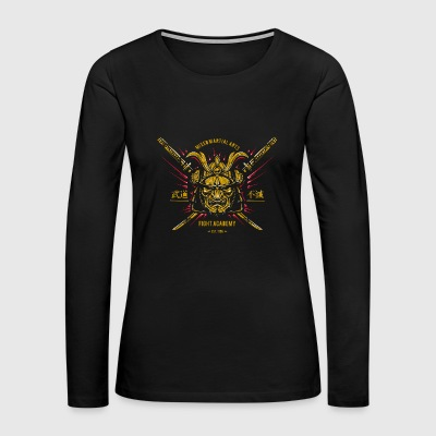 golden samurai - Women's Premium Long Sleeve T-Shirt