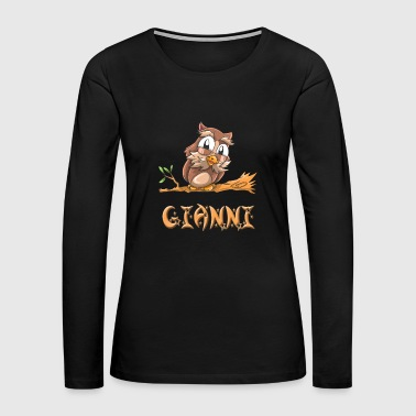 Gianni Owl - Women's Premium Long Sleeve T-Shirt