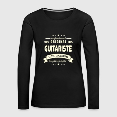 Original Guitarist - Women's Premium Long Sleeve T-Shirt