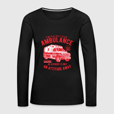 Ambulance - Women's Premium Long Sleeve T-Shirt