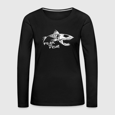 Fear No fish Bone - Women's Premium Long Sleeve T-Shirt