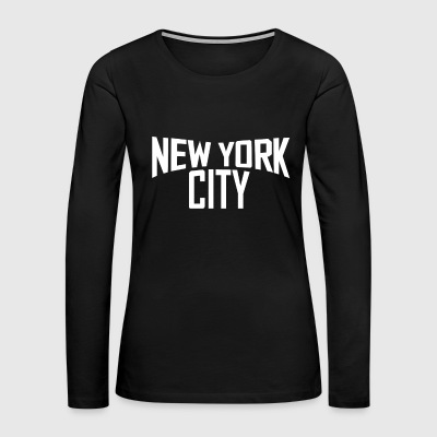 New York City - Women's Premium Long Sleeve T-Shirt
