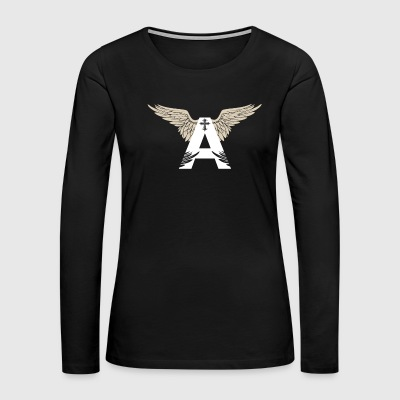 Angel God - Women's Premium Long Sleeve T-Shirt