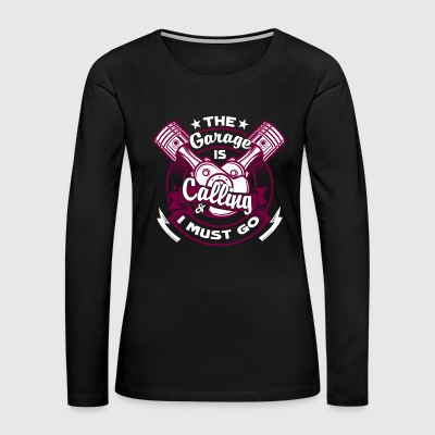 Car Mechanic Shirt - Love Car Mechanic T-Shirt - Women's Premium Long Sleeve T-Shirt
