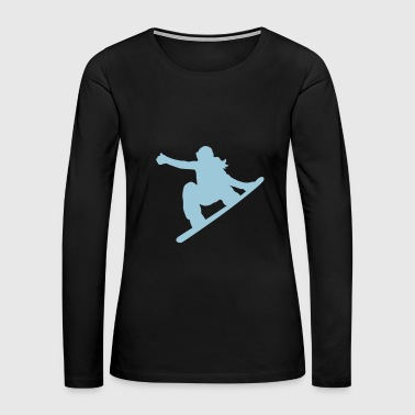 snowboard - Women's Premium Long Sleeve T-Shirt