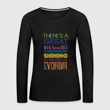 Carousel Of Progress T shirt - Women's Premium Long Sleeve T-Shirt
