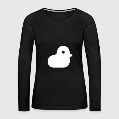 bjork duck - Women's Premium Long Sleeve T-Shirt