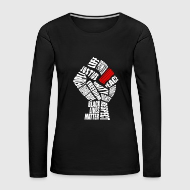 The Love Fist - Women's Premium Long Sleeve T-Shirt