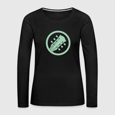 electric guitar green - Women's Premium Long Sleeve T-Shirt