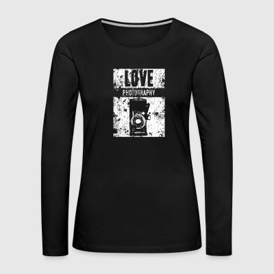 LOVE PHOTOGRAPHY - Women's Premium Long Sleeve T-Shirt