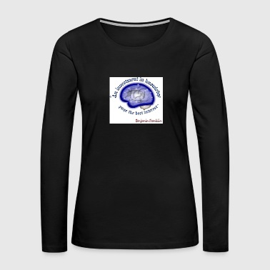 Words of wisdom - Women's Premium Long Sleeve T-Shirt
