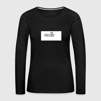 stick man - Women's Premium Long Sleeve T-Shirt