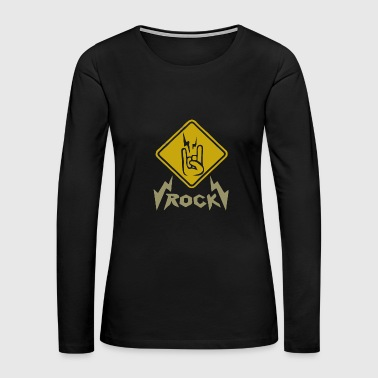 Rock - Women's Premium Long Sleeve T-Shirt