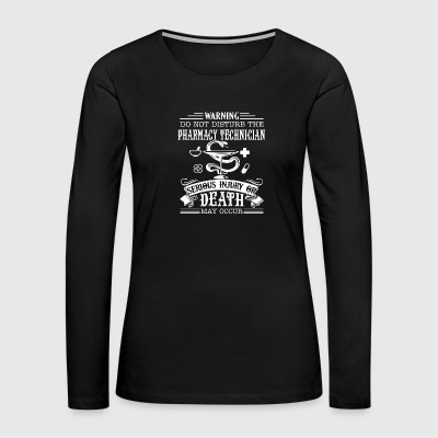 Pharmacy Technician Shirt - Women's Premium Long Sleeve T-Shirt