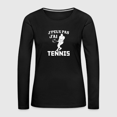 Tennis - Women's Premium Long Sleeve T-Shirt
