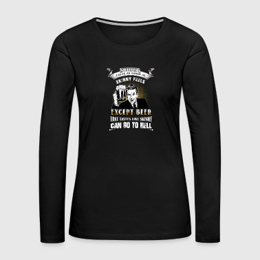 men beer - Women's Premium Long Sleeve T-Shirt