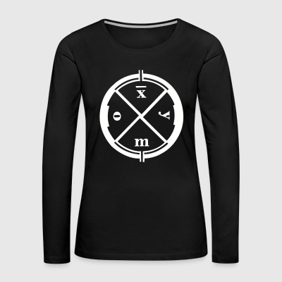 CLAN OF XYMOX tee Dutch gothic wave rock - Women's Premium Long Sleeve T-Shirt