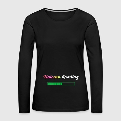 Unicorn loading - Women's Premium Long Sleeve T-Shirt