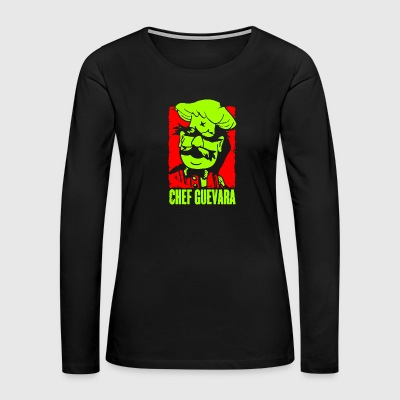 Chef Guevara - Women's Premium Long Sleeve T-Shirt