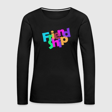 friendship - Women's Premium Long Sleeve T-Shirt