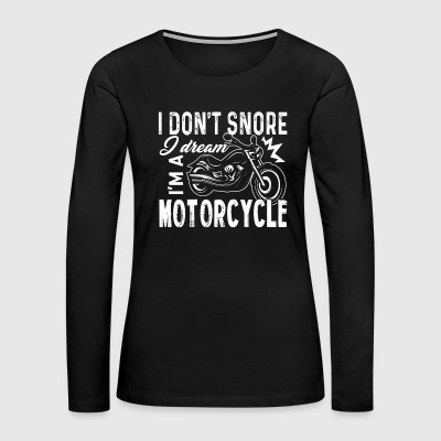 Motorcycle T Shirt - Women's Premium Long Sleeve T-Shirt
