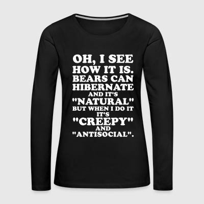 Hibernation - Women's Premium Long Sleeve T-Shirt