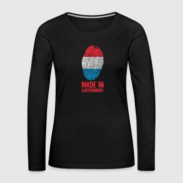 Made in Luxembourg - Women's Premium Long Sleeve T-Shirt