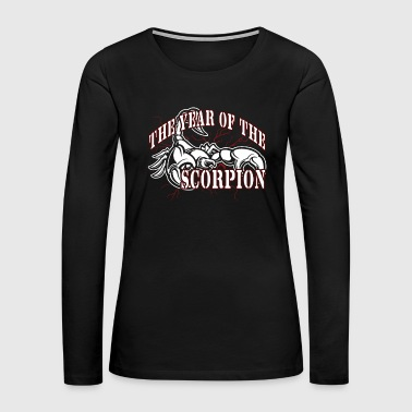 YEAR OF THE SCORPION SHIRT - Women's Premium Long Sleeve T-Shirt