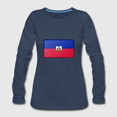 Haiti Flag - Women's Premium Long Sleeve T-Shirt