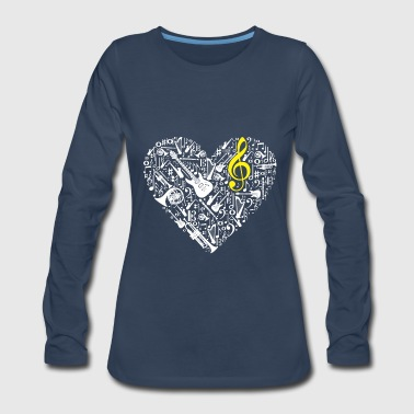 Music - Women's Premium Long Sleeve T-Shirt