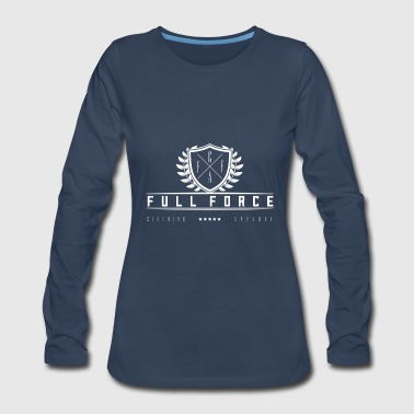 Full Force Clothing Apparel - Women's Premium Long Sleeve T-Shirt