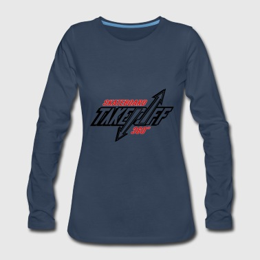 TakeOff-Skateboard360 - Women's Premium Long Sleeve T-Shirt