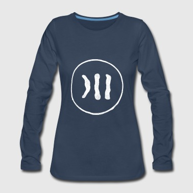 New Design Super Cool Down Syndrome Chromosome - Women's Premium Long Sleeve T-Shirt