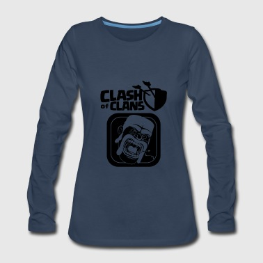 Barbarian Clash of Clans - Women's Premium Long Sleeve T-Shirt