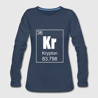 Krypton - Women's Premium Long Sleeve T-Shirt