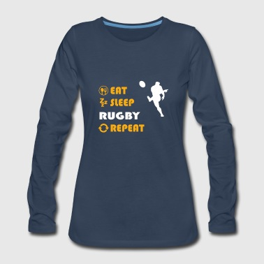 Rugby Rugby - gift for men and women - Women's Premium Long Sleeve T-Shirt