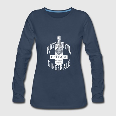 Belfast Vintage Ross Ginger Ale - Belfast Ireland - Women's Premium Long Sleeve T-Shirt