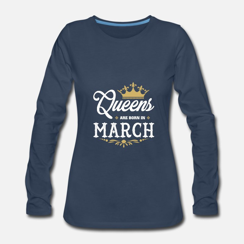 March Long Sleeve Shirts