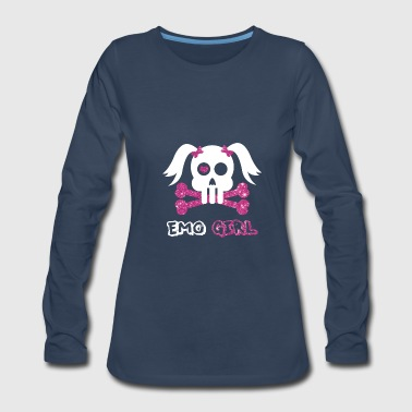Emo Style Emo Girl - Women's Premium Long Sleeve T-Shirt