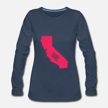 California California Girl - Women's Premium Long Sleeve T-Shirt