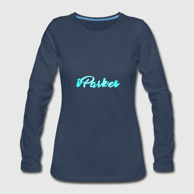 Text - Women's Premium Long Sleeve T-Shirt