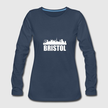 Bristol Bristol Skyline - Women's Premium Long Sleeve T-Shirt