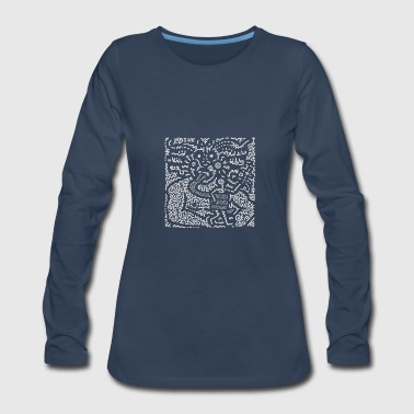 KEITH HARING ART STREET - Women's Premium Long Sleeve T-Shirt