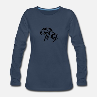 Hog Hog - Women's Premium Long Sleeve T-Shirt