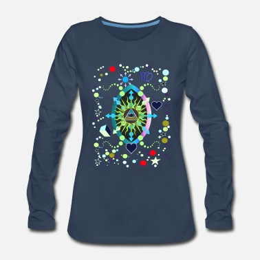 Keystone Keystone of Virgo 77 - Women's Premium Long Sleeve T-Shirt